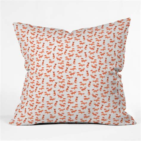 Shop Throw Pillows by Forest Foxes Throw Pillow Forest