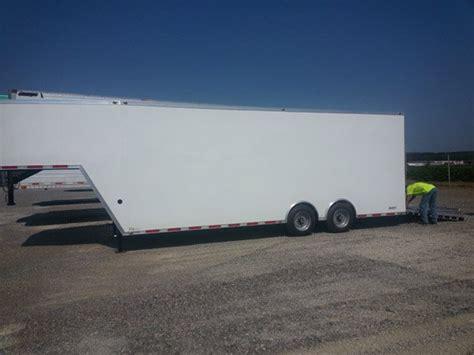 gooseneck cargo trailer ramp door mo great dane trailers