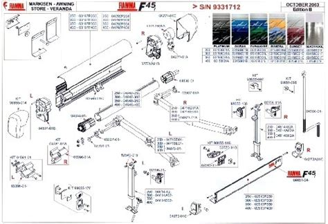 Faulkner Awning Parts Dometic 9100 Power Awning Parts Diagram Electrical And