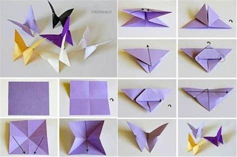 cara membuat origami bunga dari kertas warna belajar cara membuat origami bentuk kupu kupu dari kertas