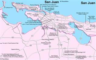 San Juan Puerto Rico Map by May 2011