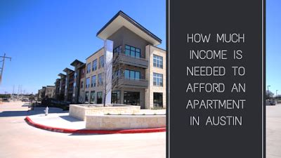 how much to move 2 bedroom apartment how much income is needed to afford an apartment in austin