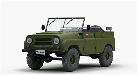 uaz jeep 3ds soviet russian uaz 469