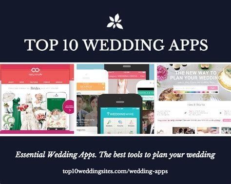 The 10 Best Wedding Apps For Planning Your Wedding