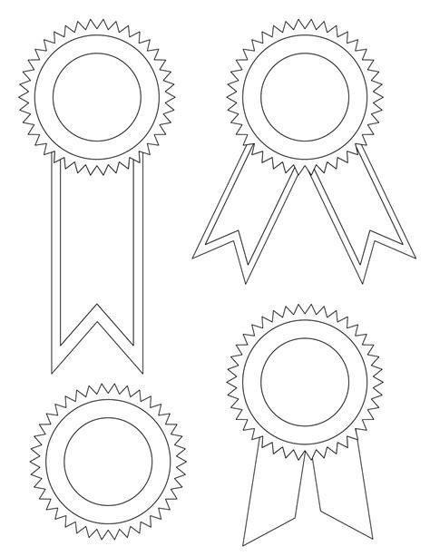printable ribbon templates blank award ribbons tim s printables
