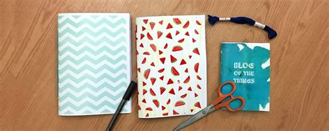 How To Make Handmade Notebooks - diy tutorial handmade notebooks of the things