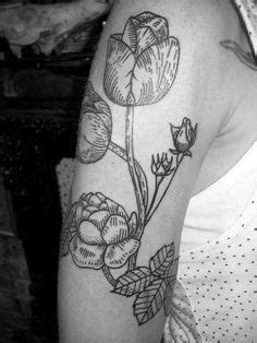 primrose tattoo with geometric border primrose with geometric border done at blacklist