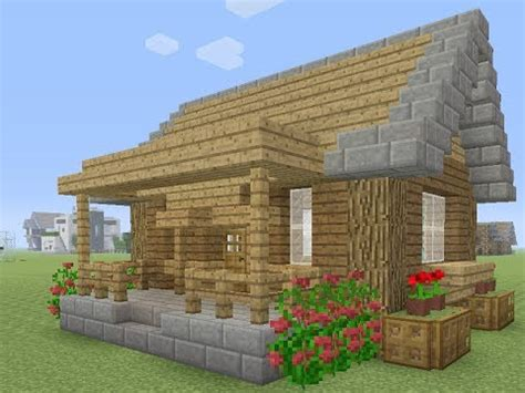 minecraft een huis minecraft een makkelijke survival huis maken youtube