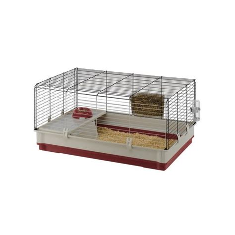 gabbie per conigli da interno gabbia per conigli ferplast krolik m 8010690110158