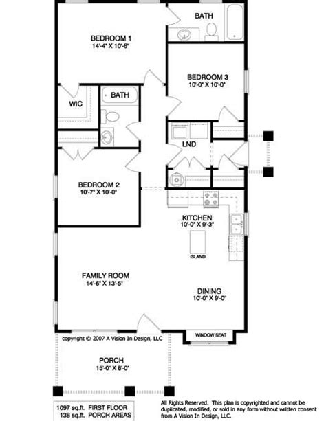 Small House Floor Plan by Small House Plans 10