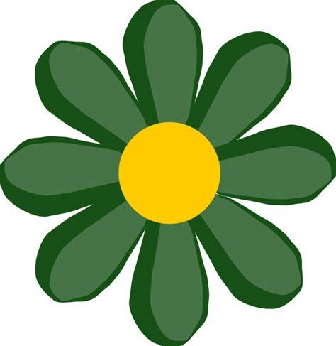 flower clipart green flower clip at clker vector clip