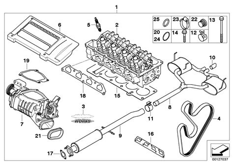 mini cooper engine parts diagram mini r53 coupe cooper s ece engine cylinder attached