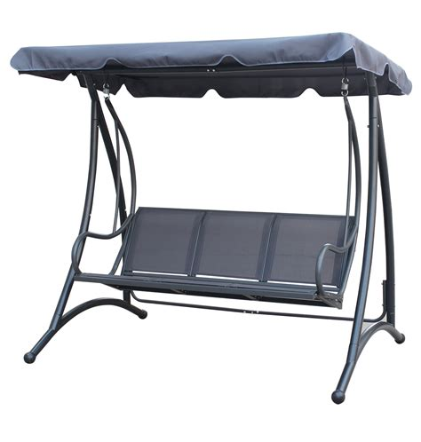 canopy for swing seat charles bentley 3 seater outdoor swing seat bench chair