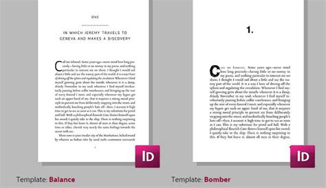 book layout template 5 indesign ebook templates af templates