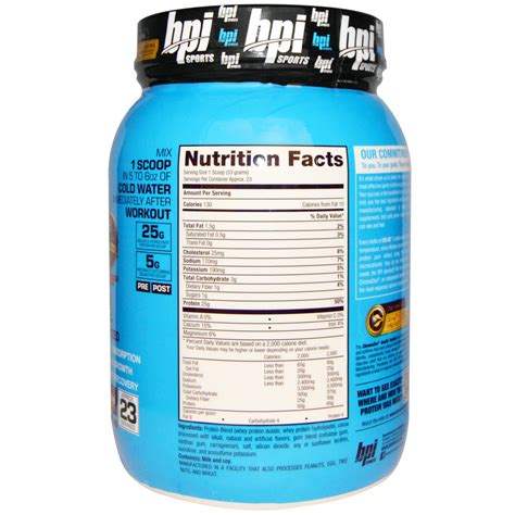 Bpi Protein bpi sports iso hd 100 whey protein isolate