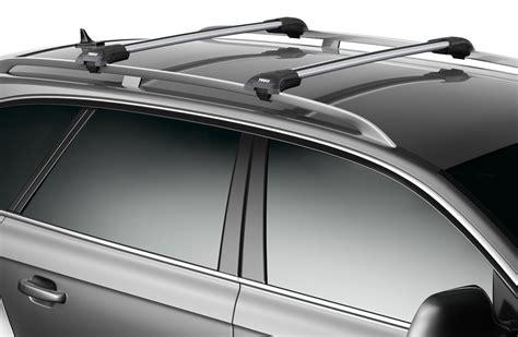 thule roof rack for gmc acadia 2014 etrailer