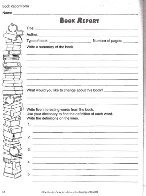 book report exles 9th grade 4th grade book report outline book report 4th grade