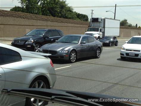 San Diego Maserati Maserati Quattroporte Spotted In San Diego California On