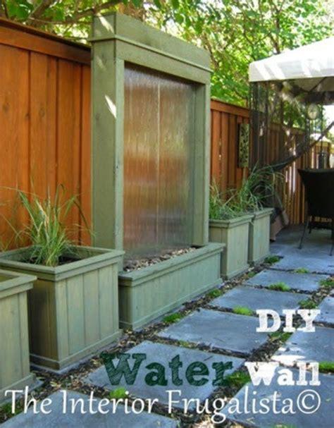 water for patio diy patio water feature homestead survival