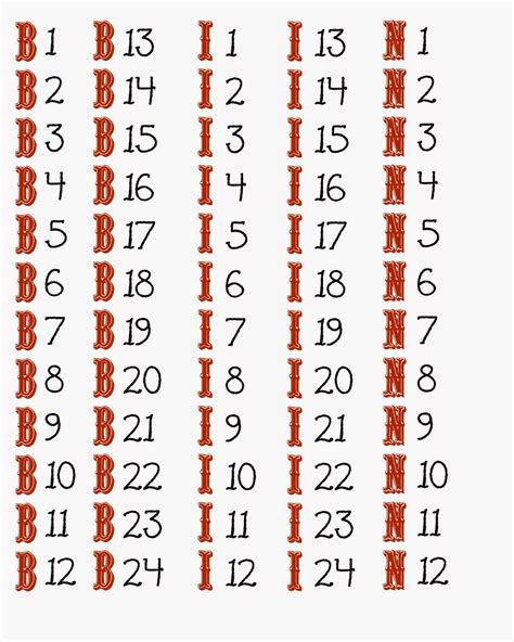 printable bingo numbers to call crafty in crosby free printable halloween bingo game