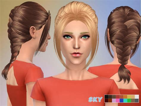 tsr braids sims 4 hair 149 by skysims at tsr 187 sims 4 updates