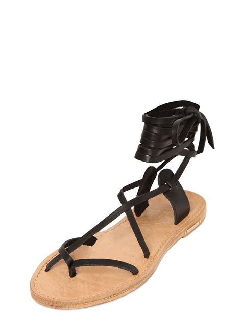 marant sandals marant etoile leather gladiator sandals in