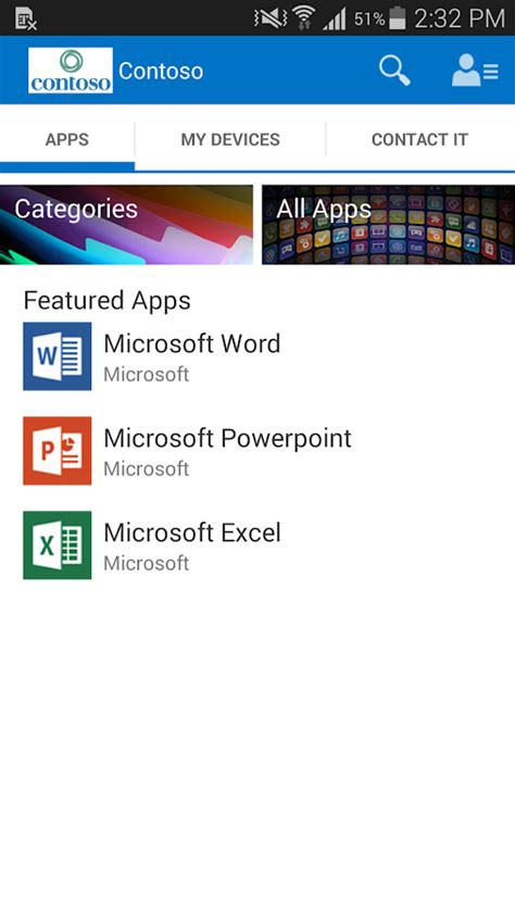 android company intune company portal android apps on play