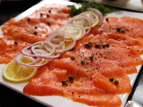 salmon buffet recipes breakfast smoked salmon platter recipe ina garten food network