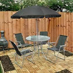 Best Deals On Patio Furniture Sets 6 Garden Furniture Patio Set Inc Chairs Table