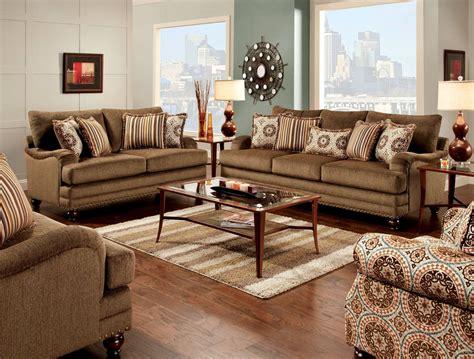 brown living room set adderley brown living room set sm8460 sf furniture of america