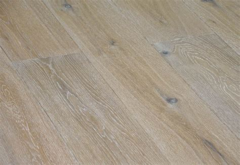 190mm wide 3 layers limed European oak engineered timber