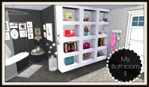 Ikea Bathrooms by Sims 4 Bathroom Ii Dinha