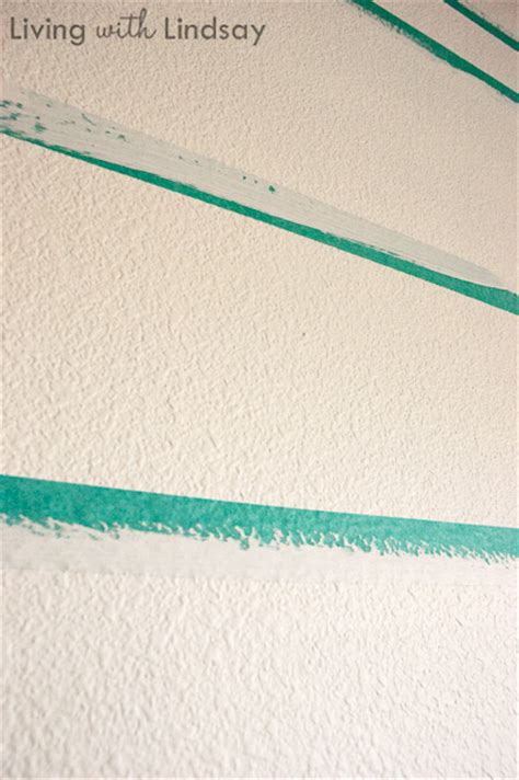 painting stripes on textured walls how to and paint crisp level stripes makely