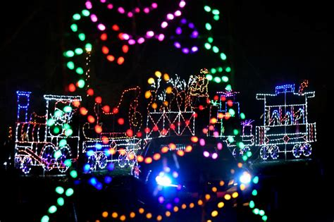 albany s holiday lights in the park opens times union
