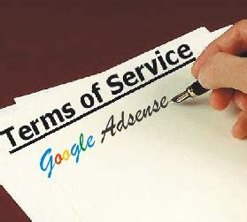 adsense tos which blog topics are against adsense tos policies