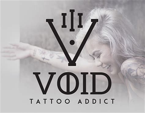 void tattoo design void addict branding on behance