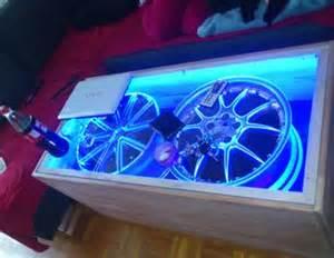 tisch mit beleuchtung wohnzimmer tisch beleuchtung anleitung zum selber bauen