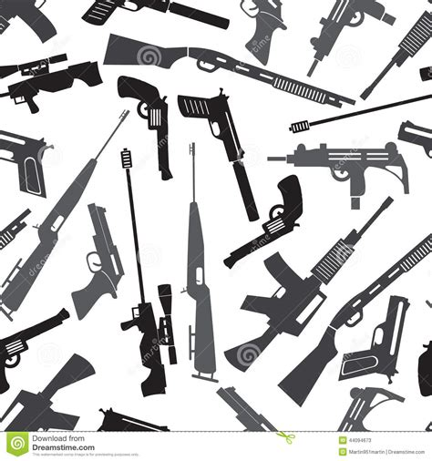 rifle stock pattern download firearms weapons and guns seamless pattern stock vector