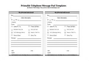 printable pad template message template 21 free word pdf documents