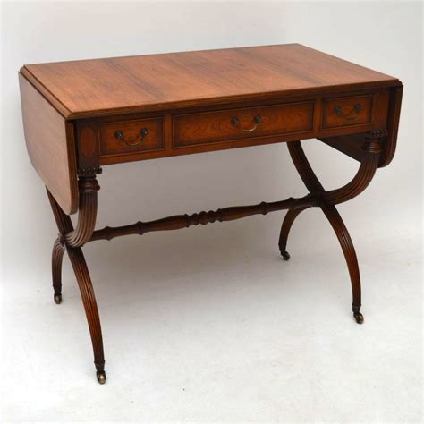 c sofa table regency style rosewood sofa table c 1930 la71925