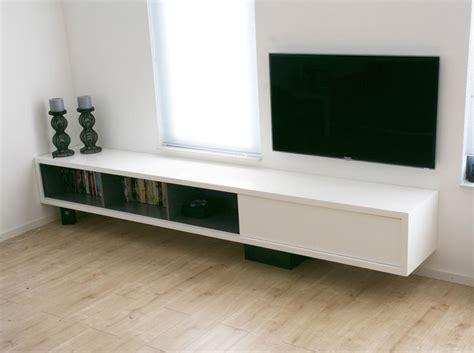 Meubels Maken Hout by Werktekening Tv Meubel Hangend Zelf Maken In Hout Of Mdf