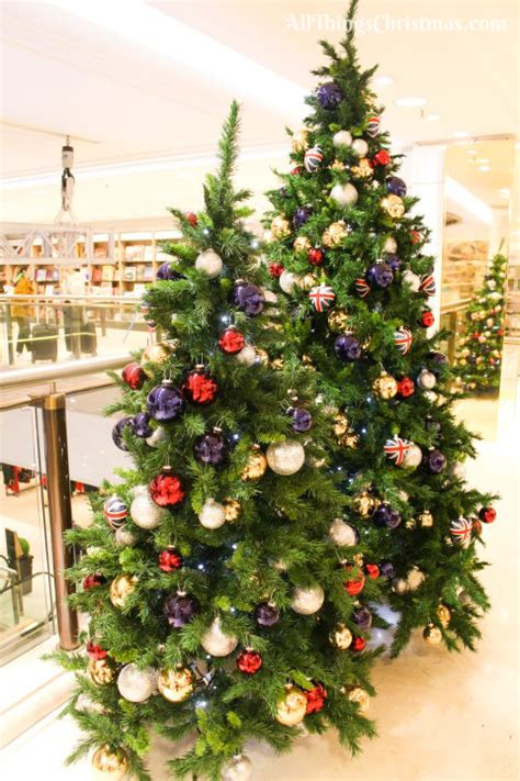 christmas trees at selfridges inside selfridges shop 2017 photos 183 all things