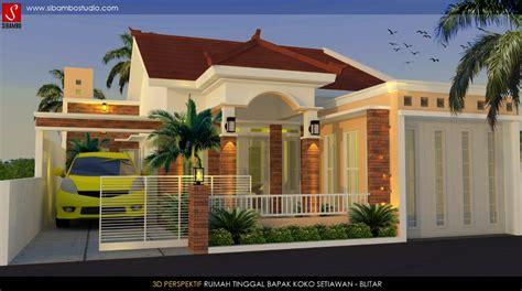 desain rumah toko desain rumah plus toko bergaya mediterania 10 x 17 m