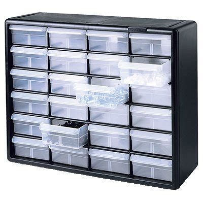 small parts storage cabinet 24 drawers model 10724