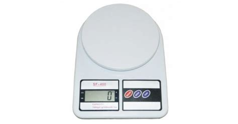 Timbangan Digital Sf 400 Kitchen Scale 10 Kg Include Baterai sf400 10 kg digital kitchen scale digital weighing scale measuring 1 to 10000 gm from category