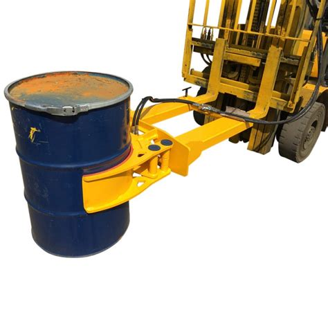 Drum Kosong Gojek Grab Only forklift drum grab steel plastic drums hydraulic drum grab forklift attachments