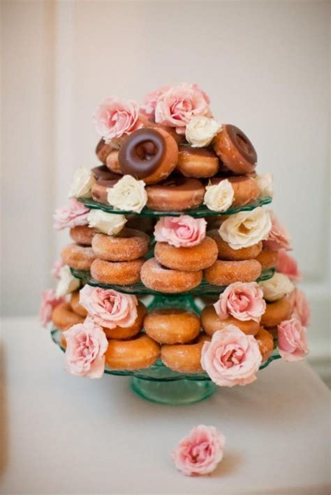 Donut Wedding Cake by 10 Amazing Wedding Cake Alternatives For Your Big Day