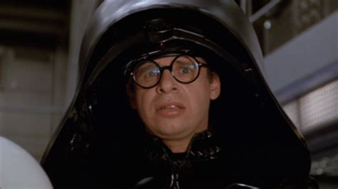 Spaceballs Is Being Developed As by Nervously Sipping Coffee Spaceballs Reaction Gifs
