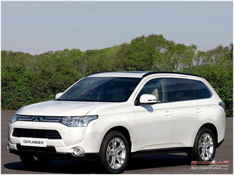 white mitsubishi outlander 2013 mitsubishi outlander phev hybrid rechargeable