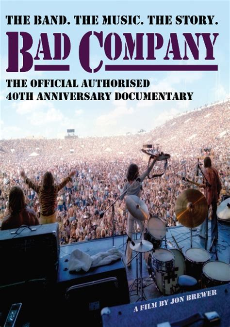 Bad Dvd Original bad company the official authorised 40th anniversary documentary review your magazine